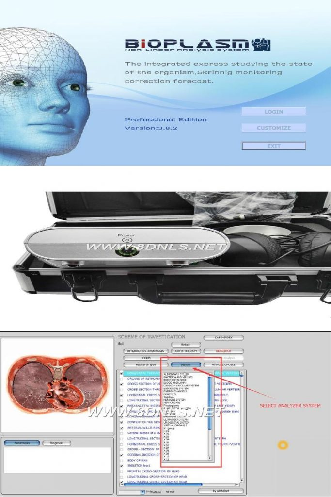 8d nls body health analyzer