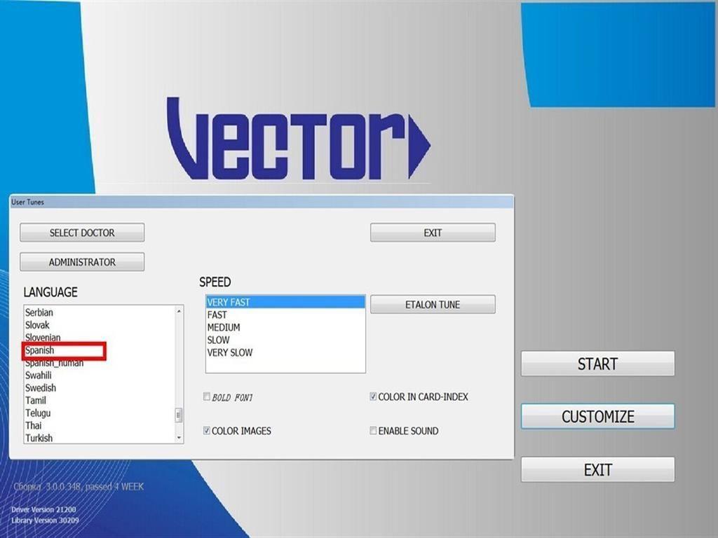 Vector V19 NLS