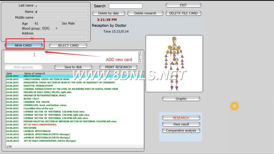 Biorezonans Metatron Hunter 4025